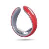 Kép 3/3 - Intelligens nyakmasszírozó / Akkumulátoros, elektromos izomstimuláló készülék – piros