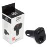 Kép 1/4 - Szivargyújtós MP3 Transzmitter – Autós kihangosító, 2 USB bemenettel (X8)