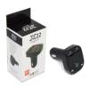 Kép 3/4 - Mini autós kihangosító MP3 Transzmitter – 2 db USB bemenettel (X22)