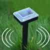 Kép 1/4 - Ultrahangos vakondriasztó napelemmel / 2 db