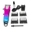 Kép 2/4 - Professzionális vezeték nélküli hajnyíró gép – 4 fejjel / dizájnos, kék-rózsaszín