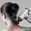 Kép 2/6 - Kézi masszázspisztoly, a hordozható személyi masszőr / masszírozó gép cserélhető fejekkel