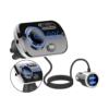 Kép 2/3 - Szellőző rácsra csíptethető, Bluetooth FM transzmitter, kihangosító és USB töltő
