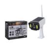 Kép 4/4 - Napelemes, mozgásérzékelős álkamera / LED-reflektor