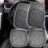 Kép 1/4 - Univerzális autós gumiszőnyeg / magasperemű hótálca, 4 részes