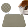 Kép 1/3 - Duplarétegű macskaszőnyeg / alom kilépő – barna