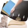 Kép 2/3 - Duplarétegű macskaszőnyeg / alom kilépő – fekete