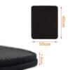 Kép 3/3 - Duplarétegű macskaszőnyeg / alom kilépő – fekete