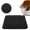 Kép 1/3 - Duplarétegű macskaszőnyeg / alom kilépő – fekete