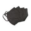 Kép 4/4 - Fekete KN95 légzésvédő arcmaszk / szájmaszk (FFP2) - 20 darabos csomag