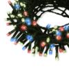 Kép 1/3 - Kültéri karácsonyi fényfüzér, 100 LED – színes