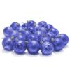 Kép 2/3 - Karácsonyfa gömb készlet, 24 darabos, kék