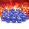 Kép 1/3 - Karácsonyfa gömb készlet, 24 darabos, kék