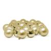 Kép 1/2 - Ünnepi gömbkészlet karácsonyfára, 24 darabos, arany