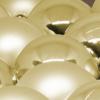 Kép 2/2 - Ünnepi gömbkészlet karácsonyfára, 24 darabos, arany