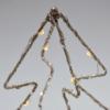 Kép 2/4 - Csúcsdísz karácsonyfára / 34 cm, fenyő alakú