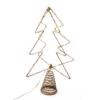Kép 1/4 - Csúcsdísz karácsonyfára / 34 cm, fenyő alakú
