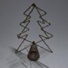 Kép 4/4 - Csúcsdísz karácsonyfára / 34 cm, fenyő alakú