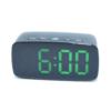 Kép 2/5 - Nagy számlapos, LED ébresztőóra, zöld fényű