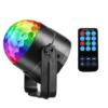 Kép 1/3 - RGB LED stroboszkóp / színes, állítható diszkófény