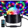 Kép 2/3 - RGB LED stroboszkóp / színes, állítható diszkófény