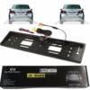 Kép 1/3 - Rendszámtábla-tartóba szerelt WIFI-s tolatókamera / EU-szabvány