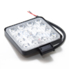 Kép 3/3 - Szuper erős LED munkalámpa, szúrófény járművekre - 48 W / szögletes