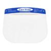 Kép 3/4 - Fejpántos műanyag arcvédő pajzs / átlátszó arcmaszk