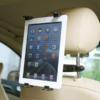 Kép 2/2 - Autó fejtámlájára rögzíthető univerzális tablet tartó