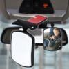 Kép 1/4 - Babafigyelő kiegészítő tükör autóba / széles látószöggel