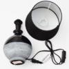 Kép 5/7 - Modern kerámia asztali lámpa / E14 foglalattal - 1-es típus