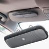 Kép 1/7 - Napellenzőre csíptethető, nagy autós Bluetooth kihangosító