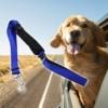 Kép 1/4 - BPS-2676 Egyszínű, autós kutyapóráz, nagy méret / biztonsági öv adapterrel