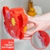 Kép 2/5 - Rák alakú, buborékfújó játék fürdőkádba