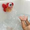 Kép 4/5 - Rák alakú, buborékfújó játék fürdőkádba