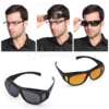 Kép 2/4 - 2 db Clear Vision tisztánlátó szemüveg, nappali és éjszakai vezetéshez is
