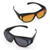 Kép 4/4 - 2 db Clear Vision tisztánlátó szemüveg, nappali és éjszakai vezetéshez is