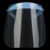 Kép 2/4 - Állítható arcvédő pajzs / átlátszó arcmaszk - 10 db cserélhető betéttel