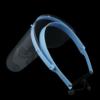 Kép 3/4 - Állítható arcvédő pajzs / átlátszó arcmaszk - 10 db cserélhető betéttel