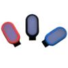 Kép 1/3 - Mini csíptethető ledes biztonsági világítás / hátizsákra, ruhára - narancssárga