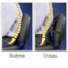 Kép 3/5 - Deréktámasz, háttámasz autóba és irodai székekre