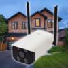 Kép 1/3 - HD WiFi éjjellátó, vízálló biztonsági IP kamera / vezeték nélküli, 3MP