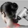Kép 5/9 - Kézi masszázspisztoly, a hordozható személyi masszőr / masszírozó gép cserélhető fejekkel