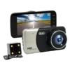 Kép 3/5 - WDR Autós full HD fedélzeti kamera + tolatókamera / menetrögzítő