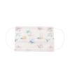 Kép 1/2 - Háromrétegű gyermekszájmaszk csomag vidám mintákkal - 50 darabos, fehér