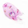 Kép 1/2 - Háromrétegű gyermekszájmaszk csomag vidám mintákkal - 50 darabos, rózsaszín