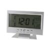 Kép 1/3 - Hangra működő LCD kijelzős asztali óra