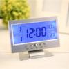 Kép 3/3 - Hangra működő LCD kijelzős asztali óra