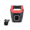 Kép 1/6 - WiFi autós fedélzeti kamera / HD Dash Cam, menetrögzítő + tolatókamera