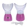 Kép 1/3 - Hoomei HM-7565 arcszauna orrgőzölő adapterrel / a tökéletes, fiatalos bőrért - rózsaszín